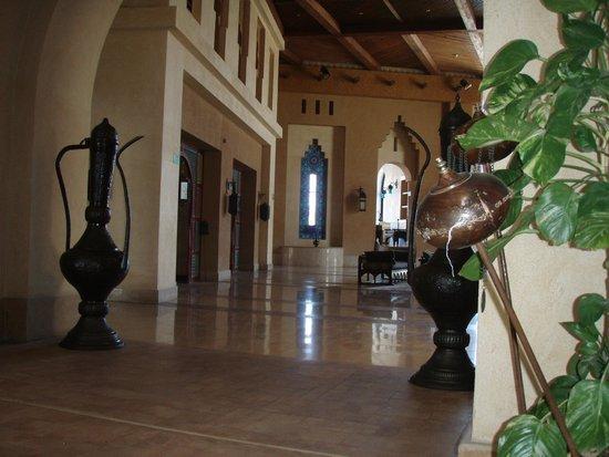 Siva Port Ghalib : Холл ресепшен