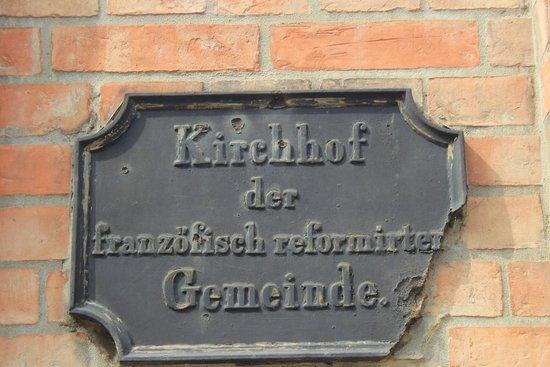 Dorotheenstadt Cemetery : Gerade der französische Teil (ohne Promis) ist sehemswert