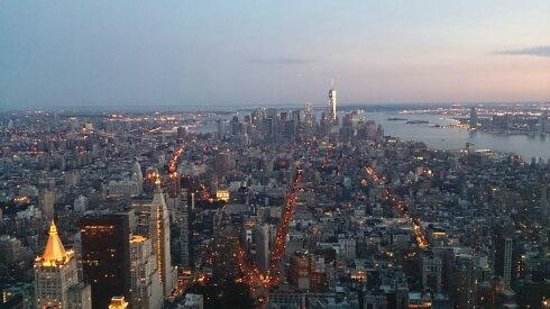 New York Skyride: View from the top