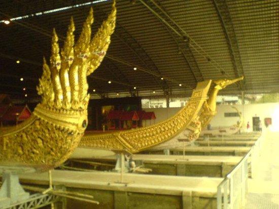 Royal Barges National Museum: Noen av båtene