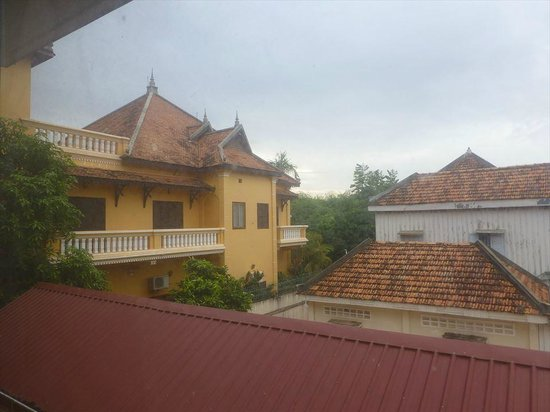 Siddharta Boutique Hotel: 2Fの部屋からの景色