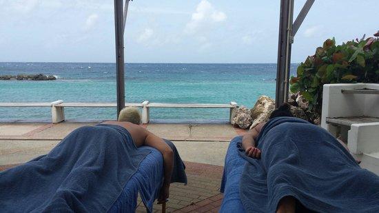 Avila Beach Hotel: Oceanside massages