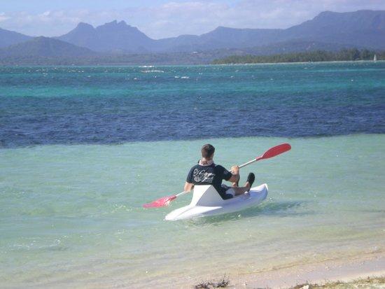 Paradis Beachcomber Golf Resort & Spa : kayak