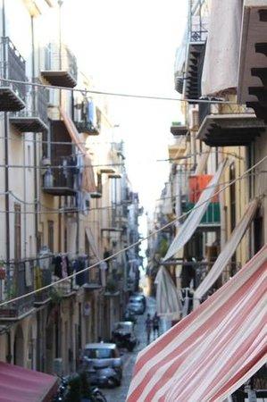 La Plumeria Hotel: View from balcony