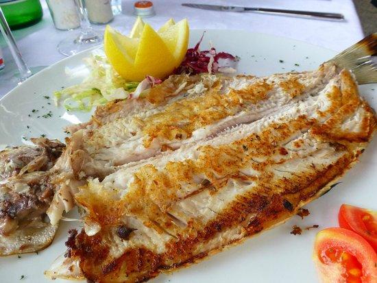 Ristorante La Punta : Pan fried fish