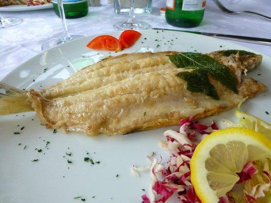 Ristorante La Punta : Grilled fish
