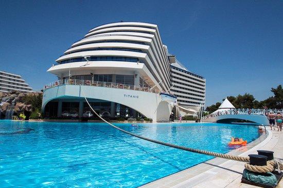 Titanic Beach Lara Hotel: Was Mooi!!