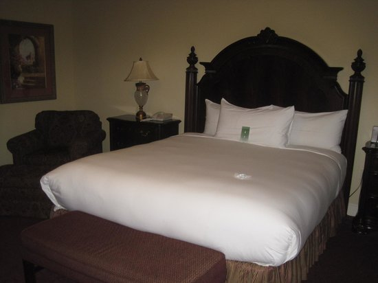 The Carlton Hotel: Comfy King Bed