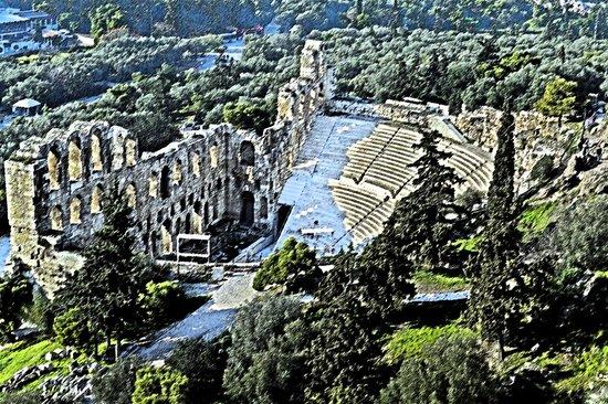 Herod Atticus Odeon : Odeum of Herodes Atticus