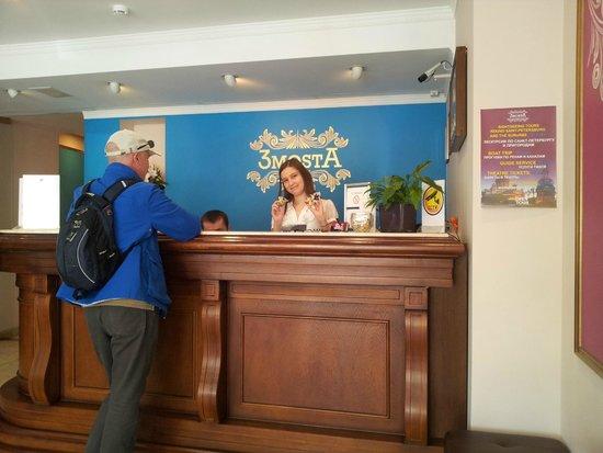 3MostA Boutique Hotel: reception