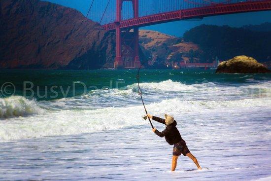 Baker Beach Fisherman By Busydadenjoyslife.comter your description here