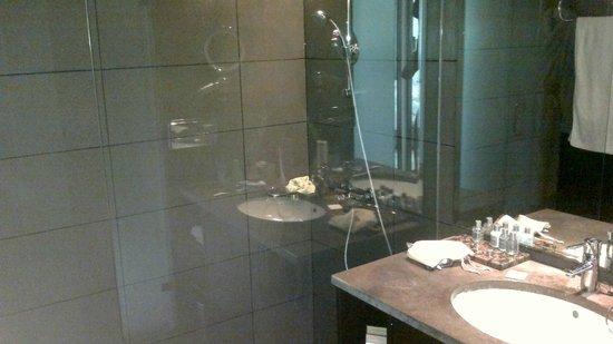 Mövenpick Hotel Gammarth Tunis: Room 121 shower room