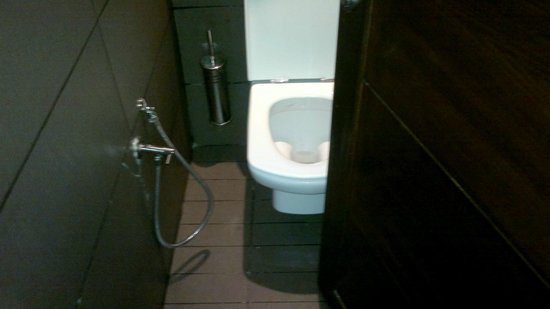 Mövenpick Hotel Gammarth Tunis : Very compact toilet to room 121