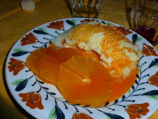 Locanda dell'Isola Comacina : Dessert prepared at the table