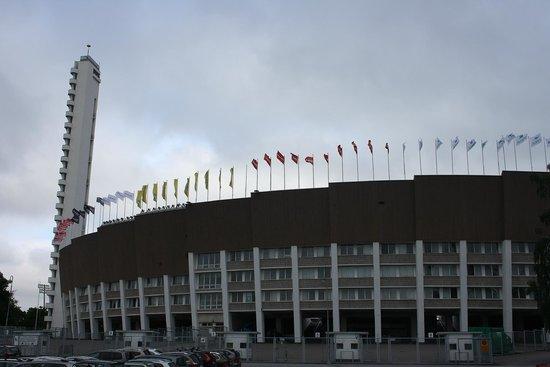Olympic Stadium (Olympiastadion) : the stadium