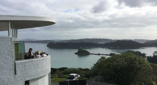 Te Whau Vineyard Restaurant: view