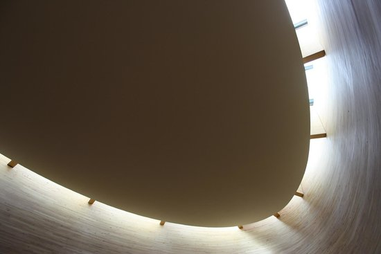Kamppi Chapel of Silence : the roof and the light