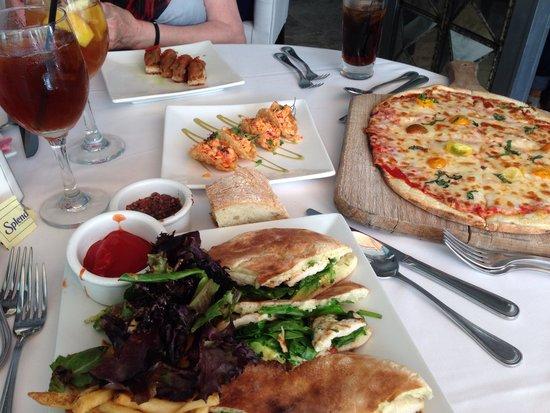 Villa Blanca: Lunch assortments