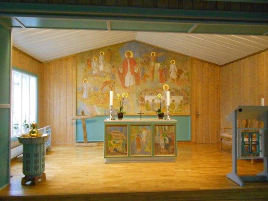 Svalbard Kirke: interni