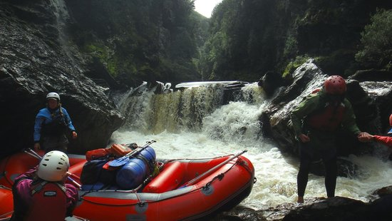 Franklin River Nature Trail: Rafting day 2