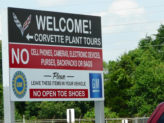 General Motors Corvette Assembly Plant : Plant tours