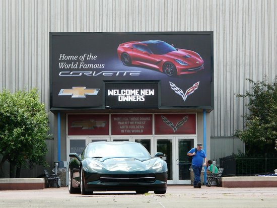 General Motors Corvette Assembly Plant : Entrance