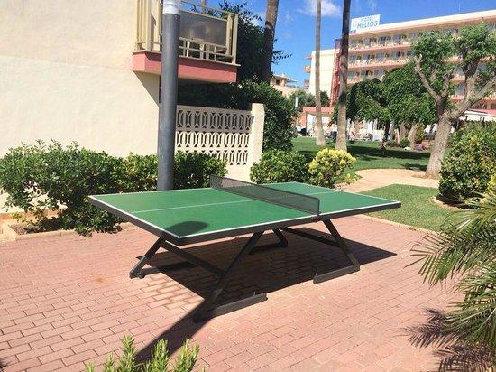 Hotel Helios Mallorca: Пинг-понг
