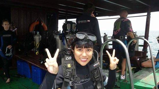 Cham Island Diving : we come to dive....là lá la..