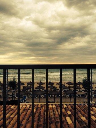 Hotel Sa Roqueta : Вид с балкона