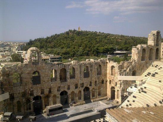 Herod Atticus Odeon : Odeon of Herodes Atticus