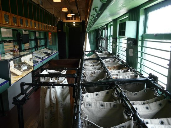 Historic RailPark and Train Museum : Post railway carriage