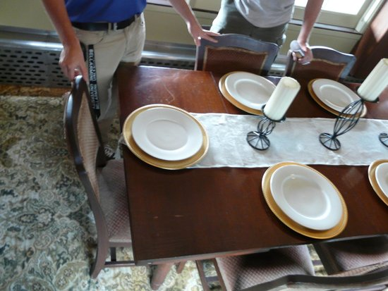 Historic RailPark and Train Museum: Presidential dining car