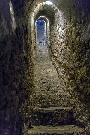 Château de Bran : Узкий коридор