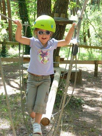 Ventoux Aventure: Accrobranche de 3 à 6 ans