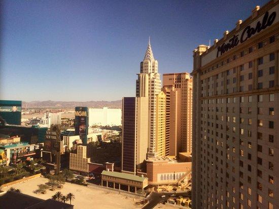 Park MGM Las Vegas : Vue de la chambre au 22ème étage