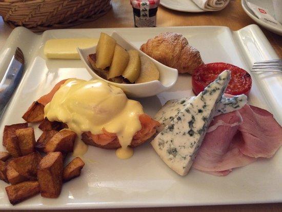 Residence U Cerneho Orla: Французский завтрак