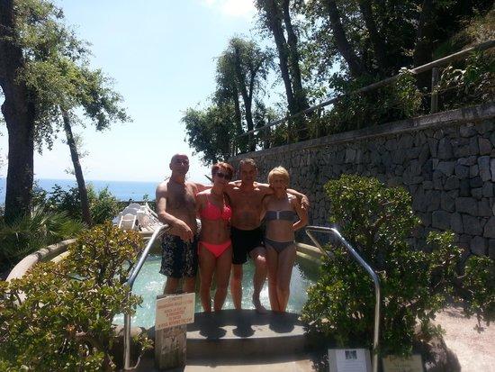 Hotel Giardino delle Ninfe e La Fenice: con gli amici