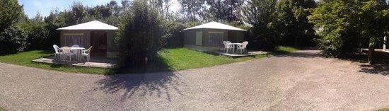 Camping La Confluence : Bungalow