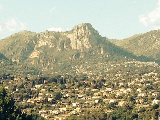 La Colline de Vence : view from the window