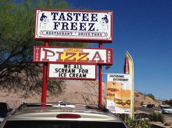 Sundance Pizza and Tastee Freeze: Sundance Pizza and taste Freeze