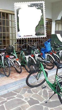 Hotel President Lignano: Прокатные велосипеды