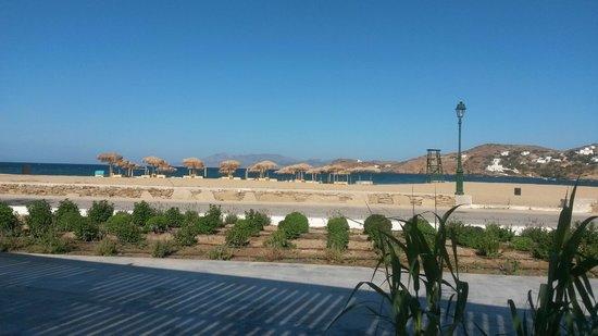 Dionysos Seaside Resort : veduta dal ristorante