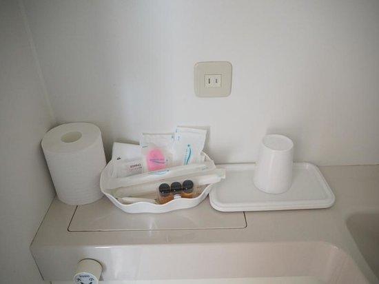 Hotel Okabe Shiosaitei: Туалетные принадлежности