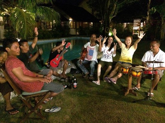 Cocotinos Manado : 気持ちの良いスタッフ