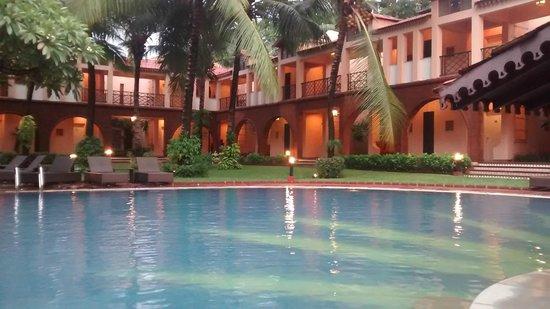 Lemon Tree Amarante Beach Resort, Goa: View from Pool, Deluxe Rooms