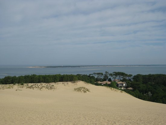 Dune du Pilat : Vue cap Ferret