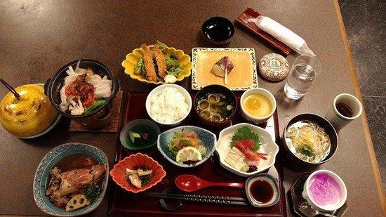 Kajikaso Royal Hotel: 會席料理