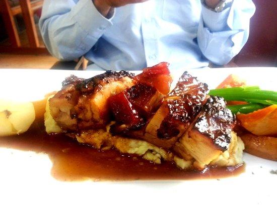 Cafe Y: Pork Belly w Mash