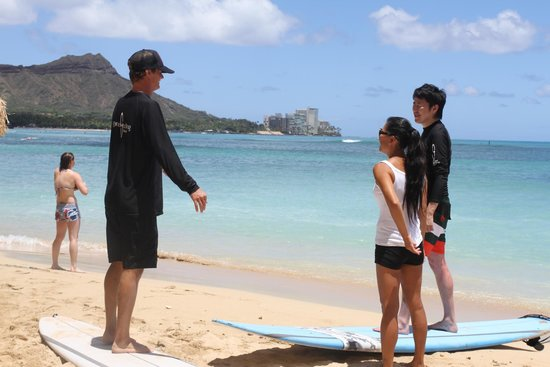 Gone Surfing Hawaii : Pre Lesson