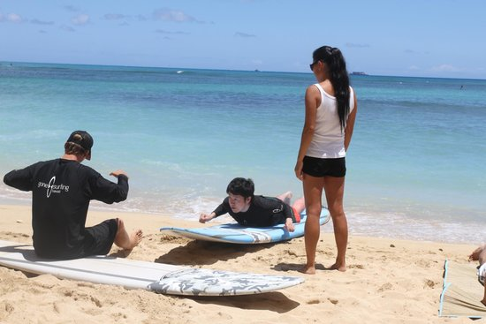 Gone Surfing Hawaii : She and he taught me kandly
